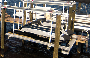 Personal Watercraft Lifts by Priority Marine