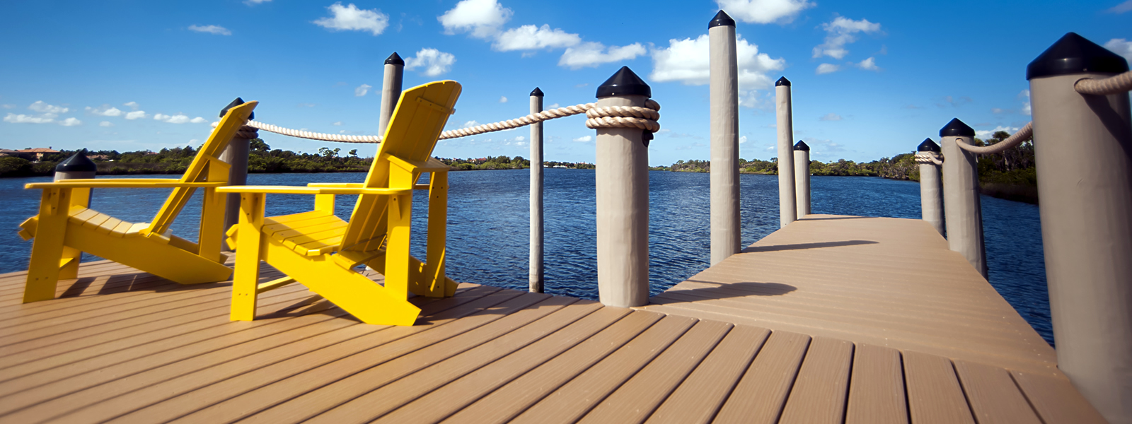 Lumberock Dock with Timberguard Pilings